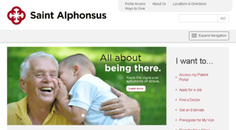 Visit Sarmc org - Boise Idaho Hospital   Saint Alphonsus