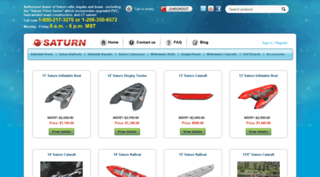 Visit Saturnboats com - Saturn Inflatable Boats, Fishing