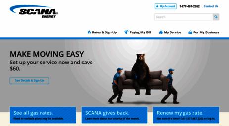 Gas Companies In Ga >> Visit Scanaenergy Com Scana Energy Natural Gas Atlanta