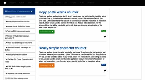 Visit Scriptgenerator net - Script And Code Generators