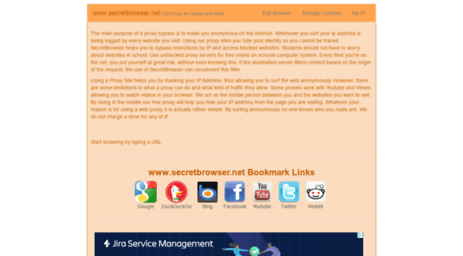 Visit Secretbrowser net - SecretBrowser net - Free USA Web