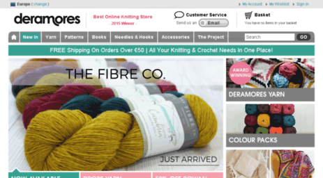 Visit Secure-eu deramores com - Knitting Yarn | Knitting
