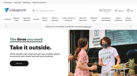 Visit Secure vistaprint com au - Vistaprint: business cards