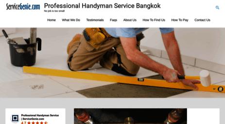 Visit Servicegenie com - Bangkok Home Repair & Service