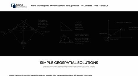 Visit Sgss ca - Simple Geospatial Solutions