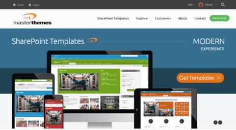 Visit Sharepointpackages com - SharePoint Modern Templates