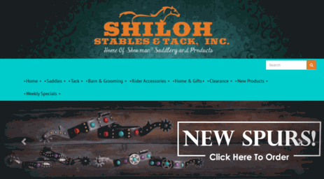 Visit Shilohtack com - Shiloh Stables and Tack - Wholesale