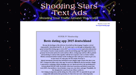 shootingstarstextads.net