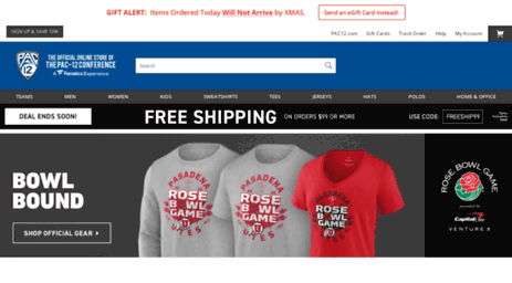 d5b5ab370b Order PAC-12 Gear and Apparel at the Official Store of the PAC-12. Get your  officially licensed PAC-12 Teams Merchandise today and your order ships in  1 ...