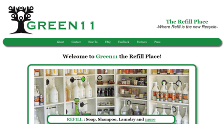 Visit Shopgreen11 com - Refill Shop for Bulk Personal-Care Products