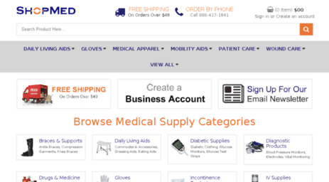 79d4fb88b62 Visit Shopmed.com - Medical Supplies - Online Medical Supply Store ...