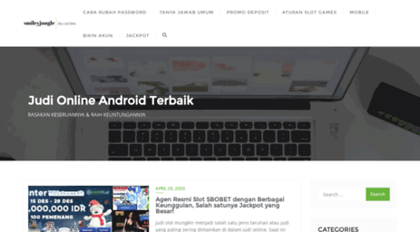 Visit Smileyjungle Com Situs Judi Slot Online Android Indonesia Terbaru Dan Terbaik Smileyjungle Com