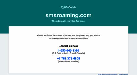 Visit Smsroaming com - Bulk SMS Service Provider, Online SMS