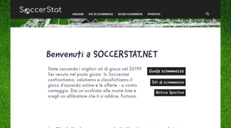 Visit Soccerstat net - Soccerstat net - Migliori bonus scommesse