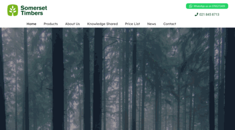 Somerset Timbers - timber and wood suppliers western cape