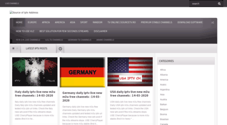Visit Sourcetv info - Source of Iptv Address - World IpTV