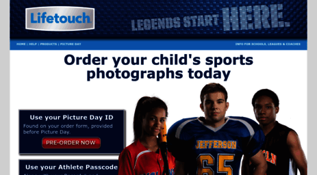 Visit Spin sportography com - Lifetouch Sports Photography | Order