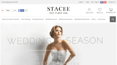 Visit Stacee.co.uk - Stacees Dresses and Fashion Accessories for ... 1818c00b9