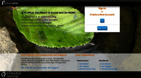 Visit Stagingwest ilrn com - CengageNOW | Online teaching