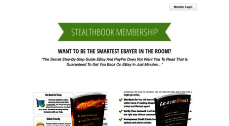 Visit Stealthbook com - StealthBook | Where stealth happens