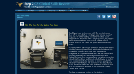 Visit Step2cs net - Step 2 CS - Clinical Skills Review