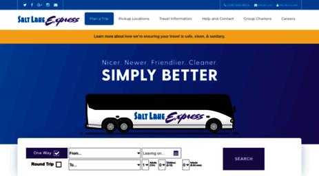 Visit Stgeorgeexpress Com St George Express Shuttle Charter Services