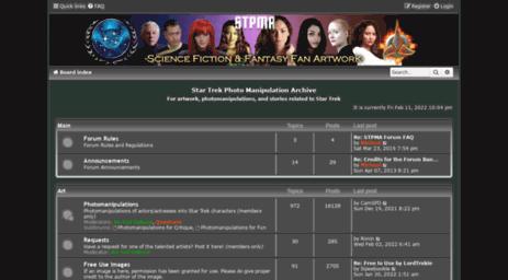 Visit Stpma com - Star Trek Photo Manipulation Archive