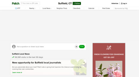 Visit Suffield patch com - Suffield, CT Patch - Breaking