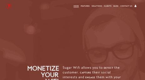 Visit Sugarwifi com - Sugar Wifi - Social Wifi Marketing