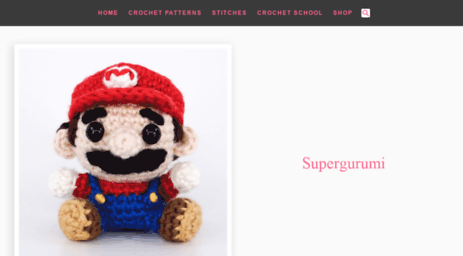 Visit Supergurumi com - Supergurumi - Amigurumi Crochet Patterns