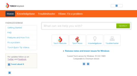 Visit Support torchbrowser com -