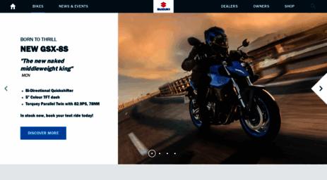 Visit Suzuki-gb co uk - Suzuki Motorcycles Official Website | Suzuki