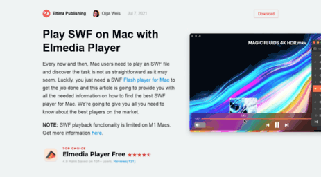 Visit Swf-kit com - Use SWF Player for Mac packed with interesting