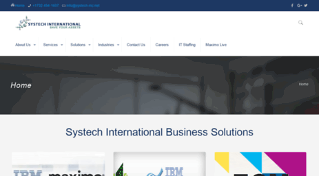 Visit Systechsol com - Computerized Maintenance Management Systems