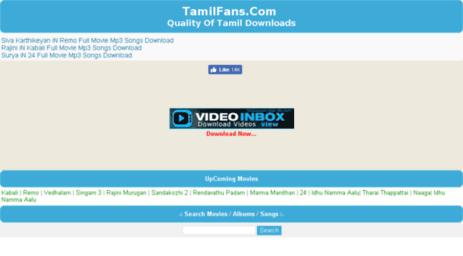 Visit Tamilmoviemp3songs com - Tamil Mp3 Songs Download