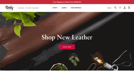 Visit Tandyleatherfactory Ca Tandy Leather Canada Leathercraft
