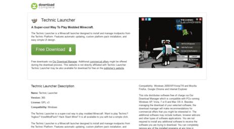 Visit Technic-launcher com - Download Technic Launcher