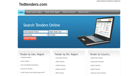 Visit Tedtenders com - All Tenders information Available on