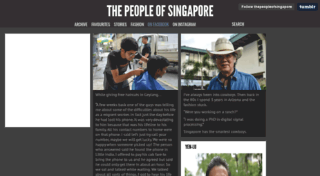 visit thepeopleofsingapore tumblr com the people of singapore