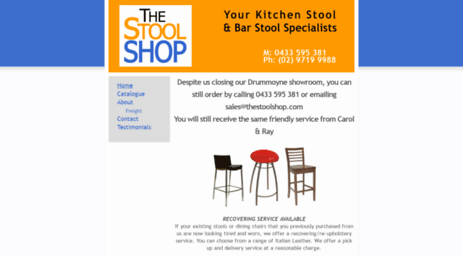 Outstanding Visit Thestoolshop Com Au The Stool Shop Sydney Evergreenethics Interior Chair Design Evergreenethicsorg
