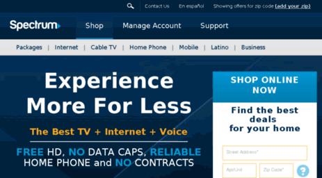 Visit Timewarnercableconnect com - Time Warner | Spectrum TV