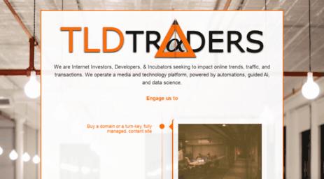 Visit Tldtraders com - TLDtraders - Startup Franchiser