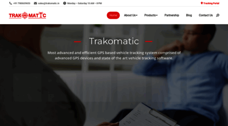 Visit Trakomatic in - Vehicle Tracking System | Powerful