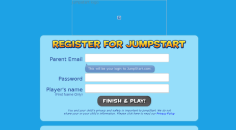 Visit Tryjumpstart com - Sign Up – Play Now – JumpStart