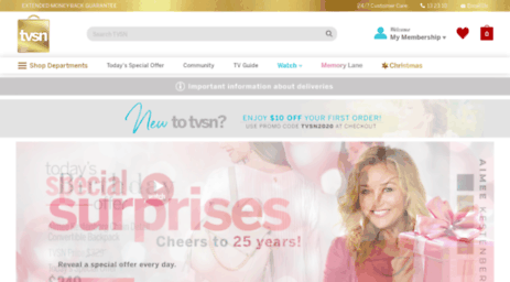 Visit Tvsn co nz - TVSN - Your ultimate shopping destination