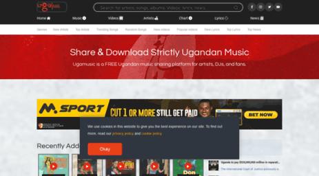 Visit Ugamusic biz - Ugamusic - Music Charts, News, Free Audios