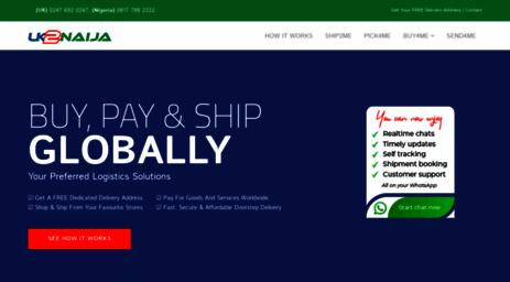 Visit Uk2naija com - #1 UK Shipping to Nigeria in 48 hrs