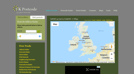 Visit Ukpostcode net - UK Address Finder, postcode address finder