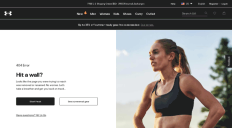 Visit Under Armour® Official Store – FREE