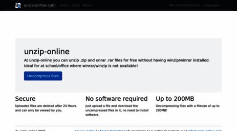 Visit Unzip-online com - Unzip-online com | Home